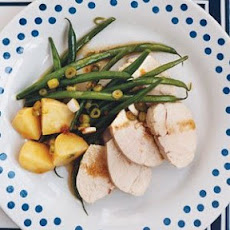 Gingery Chicken With Green Beans and Potatoes