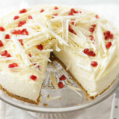 White Chocolate & Ricotta Cheesecake
