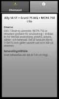 Screenshot of Ogräsdatabasen