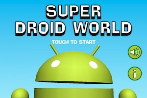 Screenshot of Super Droid World