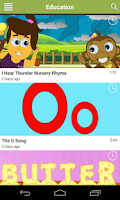 Screenshot of Kids Videos