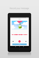 Screenshot of Zoobe - cartoon voice messages