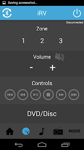 iRV Radio Remote Control - screenshot