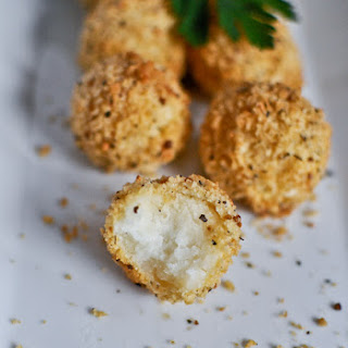 Crispy Parmesan Potato Puffs