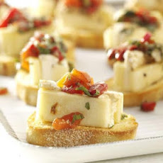 Marinated Cheese Recipe