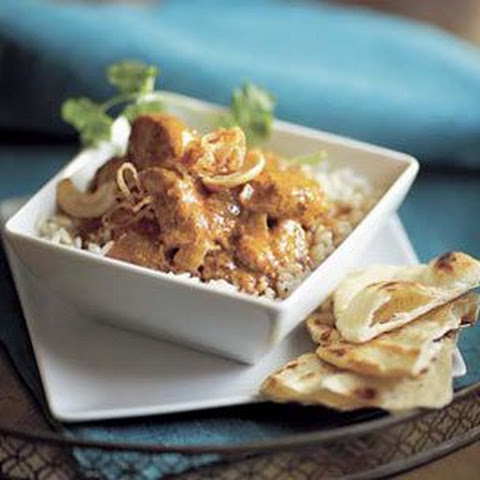 Chicken Madras Curry with Chapati