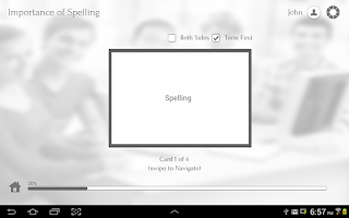 Screenshot of Learn English Spelling