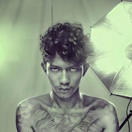 I LIKE A TATTOO by Muhammad Ridwan - People Body Art/Tattoos