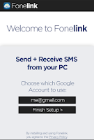 Screenshot of Fonelink