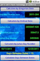 Screenshot of Julian Date Tool Pro