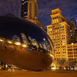 The Bean by Joe Nanez - City,  Street & Park  City Parks
