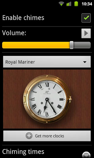 Royal Mariner for Chime Time