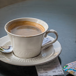 Rip-off by Vibeke Friis - Food & Drink Alcohol & Drinks ( cup, coffe, paris, receipt,  )