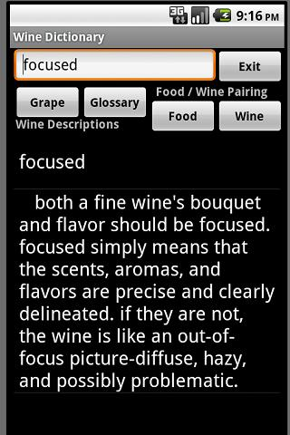 Wine Expert Dictionary Free