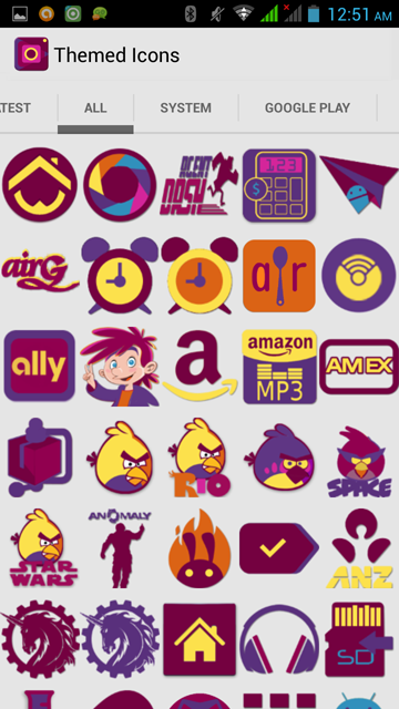 ICOBAR  ICONPACK Screenshot 3