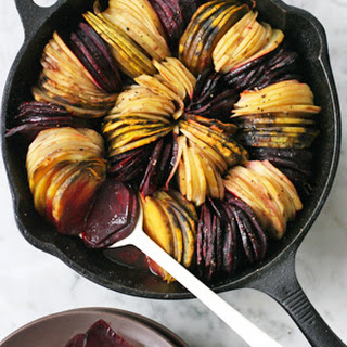 Oven-Roasted Beets and Potatoes