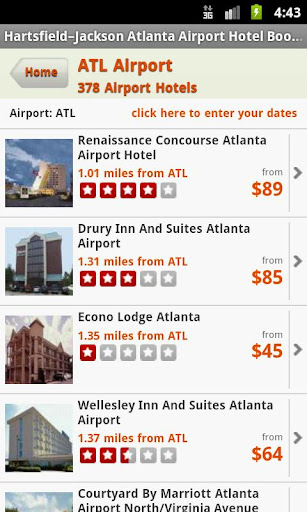 Hotels Near Atlanta Airport