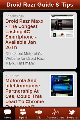 免費下載新聞APP|Droid Razr Guide & Tips app開箱文|APP開箱王