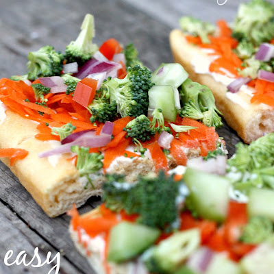 Low-Fat Veggie Squares