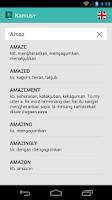 Screenshot of KamusPlus Indonesia-Inggris