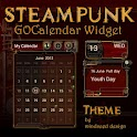 Steampunk GO Calendar Theme icon