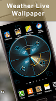 Screenshot of Weather Rise Clock 30+ Widgets