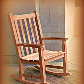 The Good Ole' Rocker! by Cheryl Beaudoin - Artistic Objects Furniture ( chair, rocking, wood, brown, mall, , Chair, Chairs, Sitting )