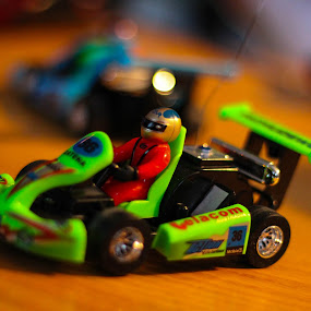 Go Cart by Devin Rieger - Artistic Objects Toys ( home, macro, canada, toy, green, table, rc )