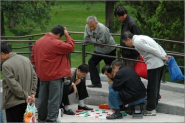 Rentner Armut Park Obdachlos