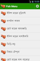 Screenshot of Bangla Recipe