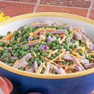 Pea Salad With Cheese And Ham Recipes