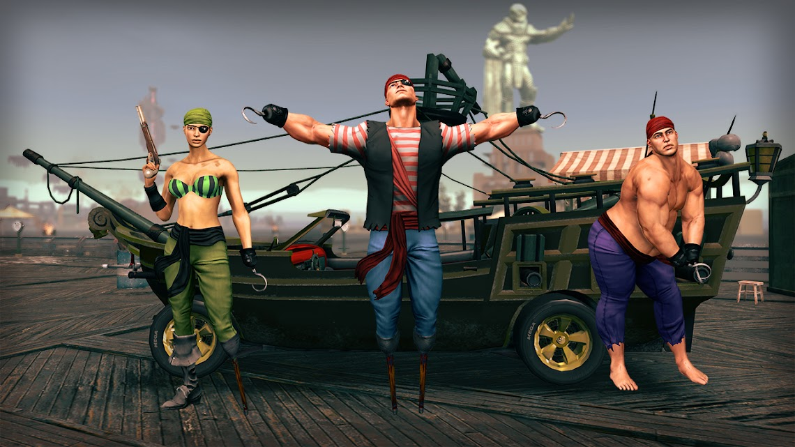 Pirate's Booty pack arrives for Saints Row IV