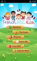 Screenshot of Learn French Alphabets ABC Kid