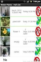 Screenshot of Water Plants