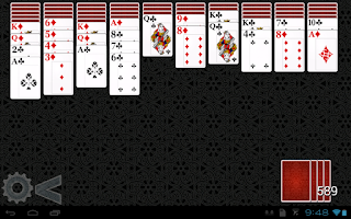 Screenshot of Spider Solitaire HD 2