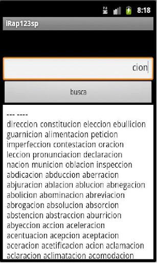 irap123 spanish