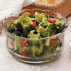 Marinated Broccoli