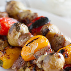 Steak and Potato Kabob