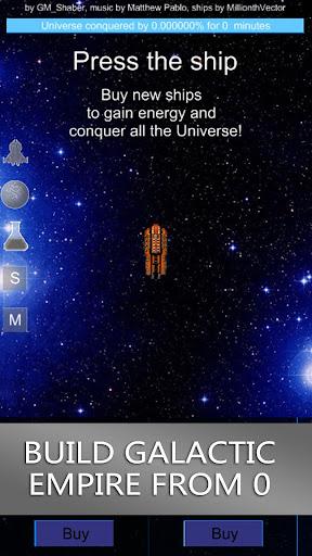 Galaxy Clicker Premium - screenshot