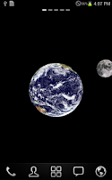 Screenshot of Live Earth (wallpaper)