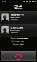 Screenshot of EasyCallBack - 3G & WiFi calls