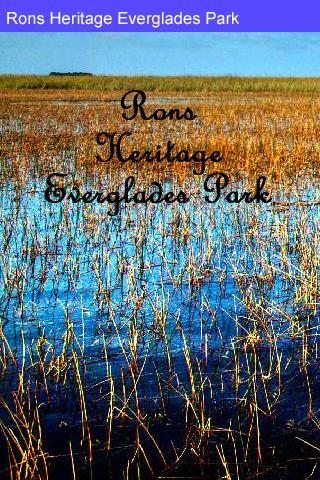 Rons Heritage Everglades Park