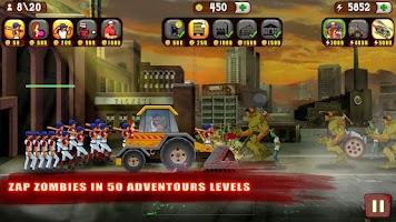 Screenshot of Baseball Vs Zombies