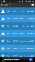 Screenshot of Sailing Weather