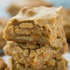 Butterscotch Blondie Gooey Bars
