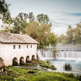 Old Mill by Zeljko Tomic - Buildings & Architecture Public & Historical