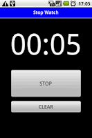 Screenshot of StopWatch Simple
