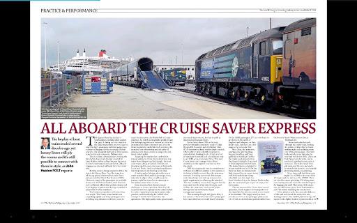 The Railway Magazine - screenshot