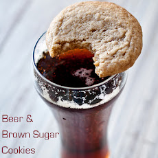 Soft Batch Beer & Brown Sugar Cookies