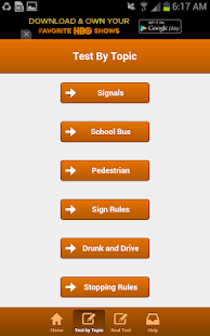 Tennessee Driving Test - screenshot